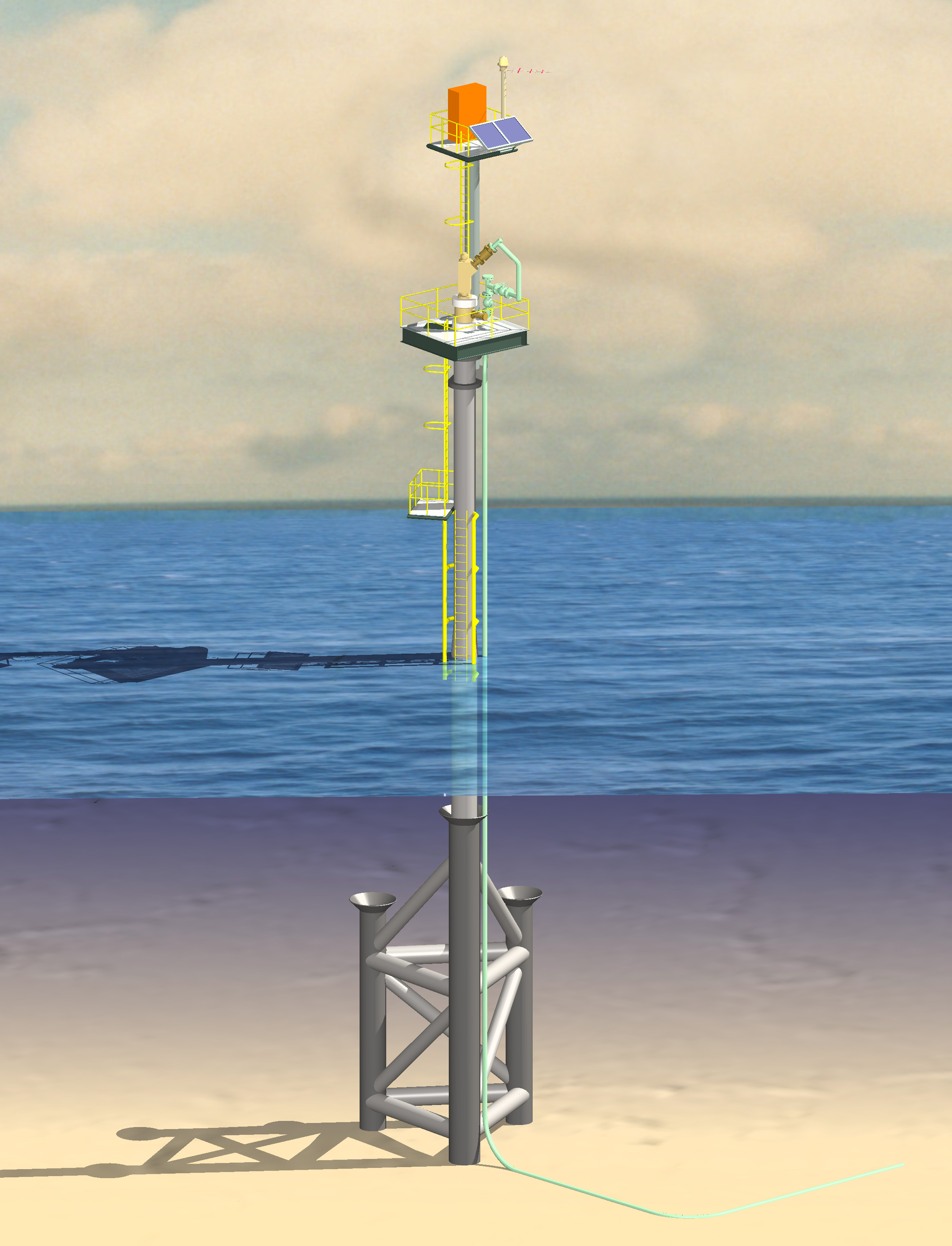 ICON Engineering - For minimal wellhead platforms where wave
