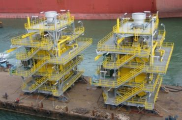 Aarlborg FPSO: Boiler Module Packaging, Singapore