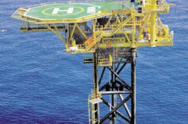 Apache Wonnich Platform Installation, Australia, North West Shelf