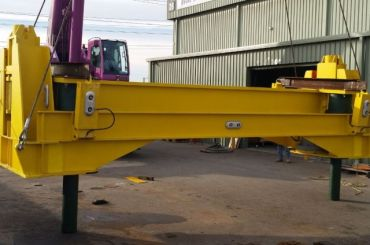 Ichthys Subsea Pig Launcher/Receiver Levelling System