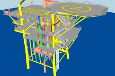 BHPB Angostura LNG Project: Wellhead Platform Front End Engineering (FEED) Study, offshore Trinidad.