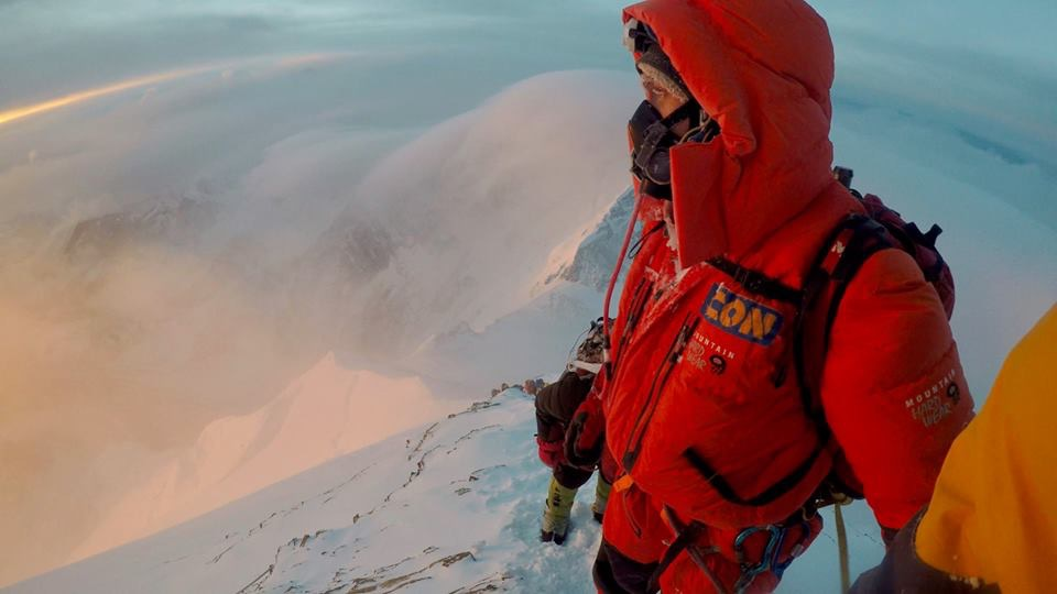 ICON engineer sets mountain climbing world speed record, finishing with Everest summit