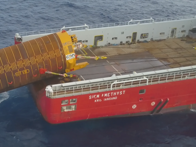 ICON and Neodrill complete world's deepest CAN-ductor deployment and recovery