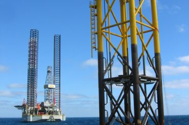 ROC Cliff Head Project Platform Installation, Dongara, Western Australia