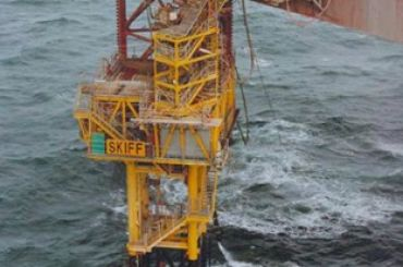 Shell Skiff Field Development: Platform Installation by Jackup Rig