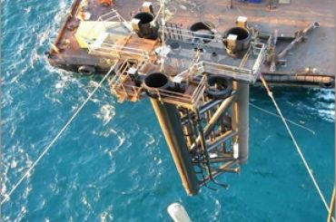 Apache Victoria Field Development: Wellhead Platform Jacket and Topsides Installation