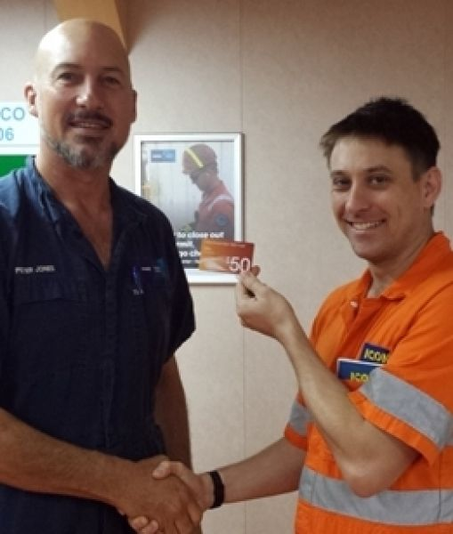 ICON Engineer wins INPEX safety award
