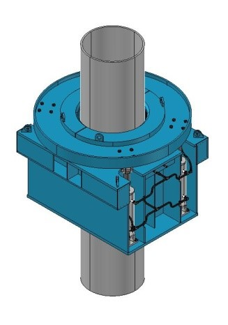 A recessed push type Conductor Tensioner Unit (CTU).jpg