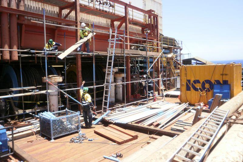 offshore construction services